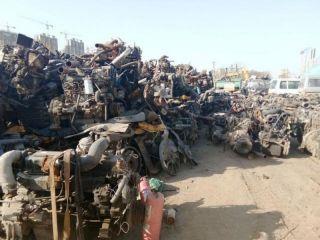 车辆拆解后的废钢