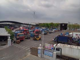 广州增城报废车收车站报废车辆查验区